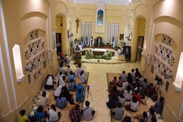 La chapelle Saint Joseph telle qu'elle est aujourd'hui...