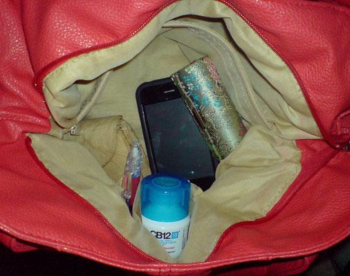 Für Unterwegs auch schnell eins in die Handtasche gesteckt...