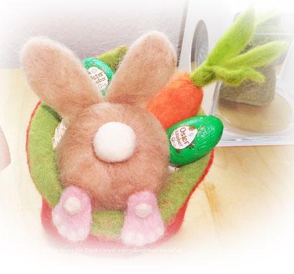 DIY - Hase im Topf - Ostern