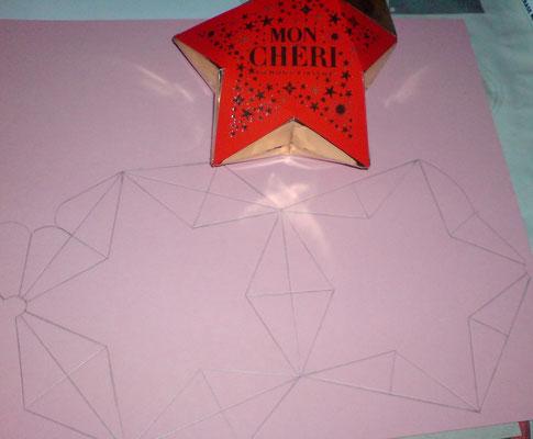 Vorlage war die Geschenkverpackung von Mon Cherie