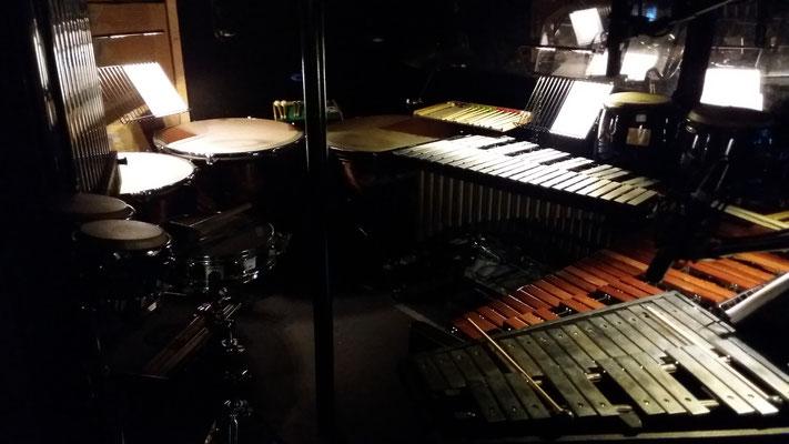 """Percussion bei """"Hinterm Horizont"""" das Musical mit den Hits von Udo Lindenberg"""