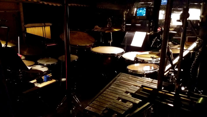 "Percussion bei Andrew Lloyd Webber's ""Liebe Stirbt Nie"""