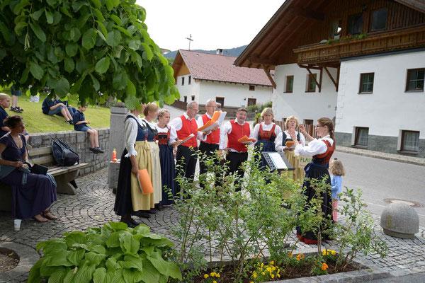 Brunnensingen Rietz, 31.05.2015