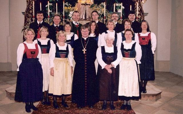 Firmung 2004 mit Bischof M. Scheuer