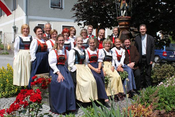 Herz-Jesu, Flaurling, 14.06.2015 mit Pfarrer C. Haider