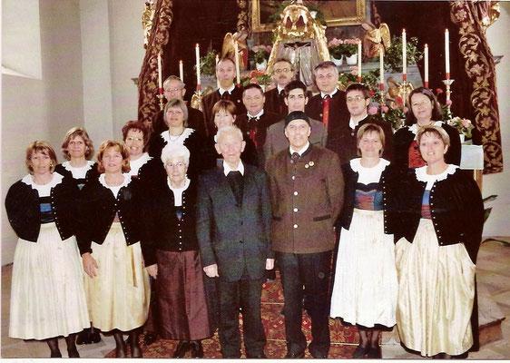 2006 mit Pfarrer Cons. Anton Enthofer