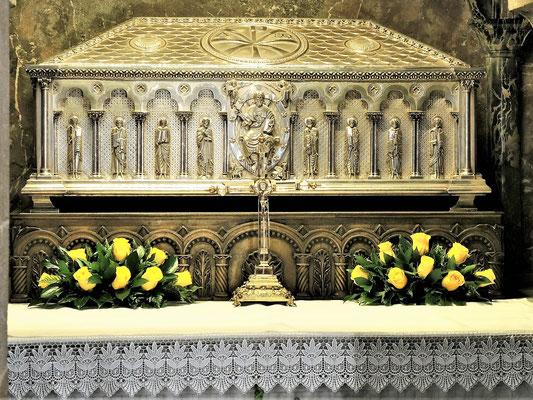 Die Gebeine vom Apostel Jakobus