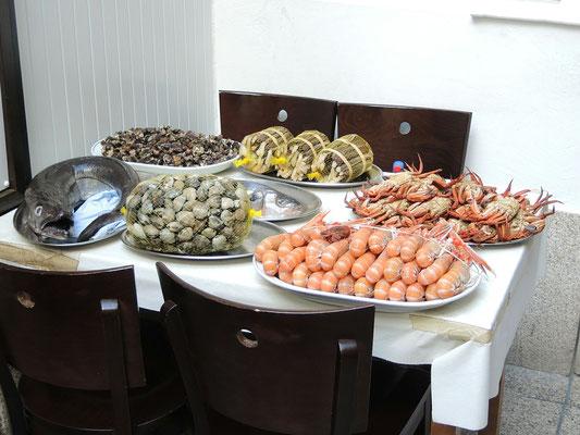 In Santiago kann man hervorragend Essen