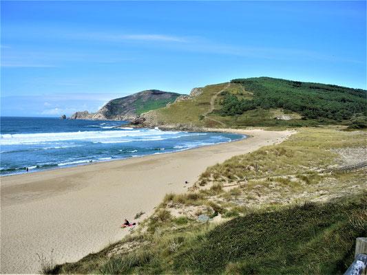 Praia Mar de Fora am ende der Welt