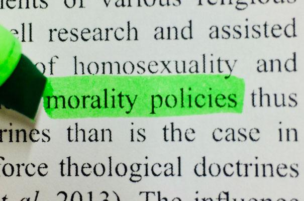Morality Policies