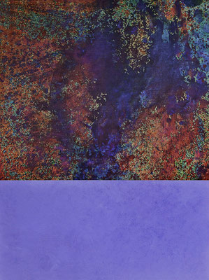 Spiegelung 2010  Acryl auf Leinen 160 x 135 cm