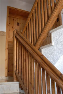 Treppenaufgang im Haus