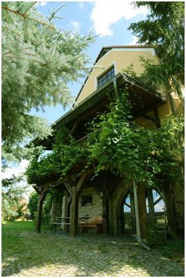 Terrasse am Haus (Gaststätte)