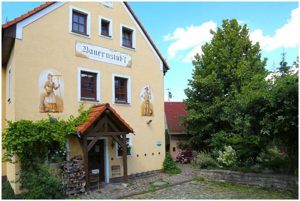 Das ehemalige Gasthaus Bauernstübl am Wiesenweg, heute Brasserie Ehrlich