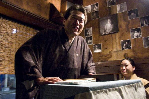 やってきました北鎌倉 『侘助』へ