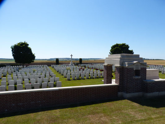 Sailly-Saillisel British Cemetery