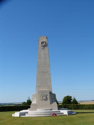 Longueval mémorial national néo-zélandais