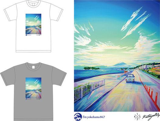 FM yokohama×KATSUYA153 T-shirts