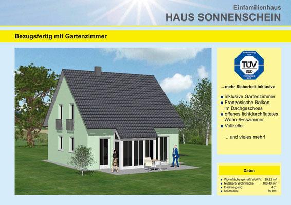 Metzgerhaus Ammerthal Fichtenhof Hausytyp Sonnenschein