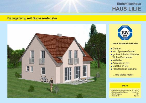 Metzgerhaus Ammerthal Fichtenhof Haustyp Lilie