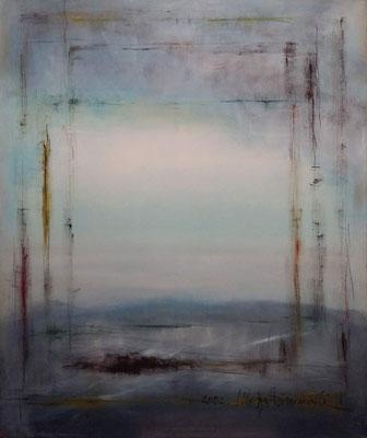 Windows, Öl auf Leinwand, 100x120x2 cm, 2002