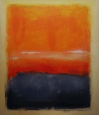 Faszination Rothko et cetera 1, Öl auf Leinwand, 120x140x2 cm, 2001