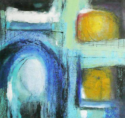 Entrance 7, Öl auf Leinwand, 140x130x2 cm, 2006