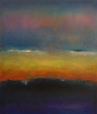 Faszination Rothko et cetera 5,Öl auf Leinwand, 120x140x2 cm, 2002