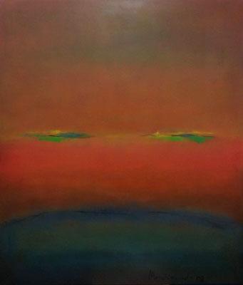 Faszination Rothko et cetera 54, Öl auf Leinwand, 120x140x2 cm, 2004, CHF 4'500