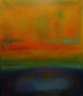 Faszination Rothko et cetera 55, Öl auf Leinwand, 120x140x2 cm, 2004