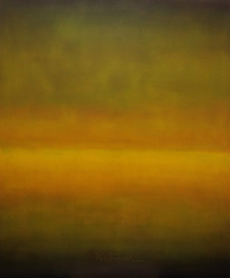 Faszination Rothko et cetera 32, Öl auf Leinwand, 100x120x2 cm, 2004, CHF 2'200
