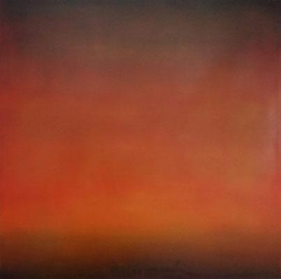 Faszination Rothko et cetera 35, Öl auf Leinwand, 80x80x4.5 cm, 2004, CHF 3'500