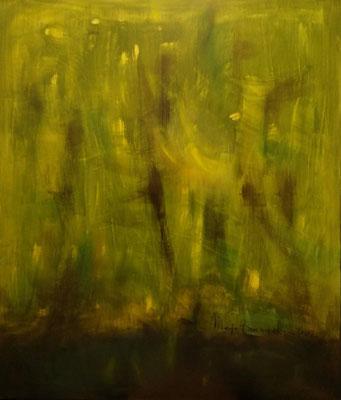 Sumatra, Öl auf Leinwand, 120x140x2 cm, 2002, CHF 3'200
