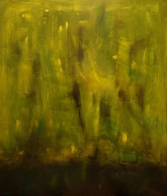 Sumatra, Öl auf Leinwand, 120x140x2 cm, 2002