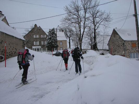 Rando skis nordiques au départ du Gîte des Sagnes
