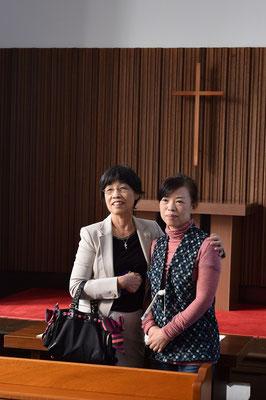 2015年10月、福岡からの元気の素のMさん来会。記念撮影。