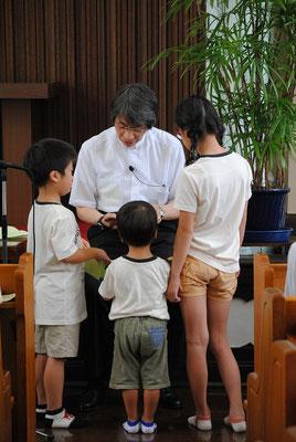 2015年5月かな?神戸からY家一同が里帰り 子どもたちへメッセージです