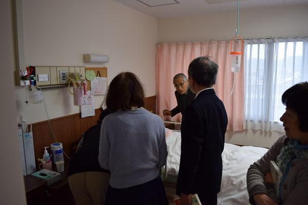 勝子さんを訪ねました
