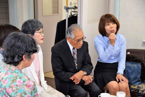 寿子さんも、こんな時間を楽しみにしていました、と言って下さる方のお一人です。