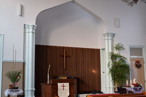 2016年1月3日の一枚、すがすがしい礼拝堂を撮影