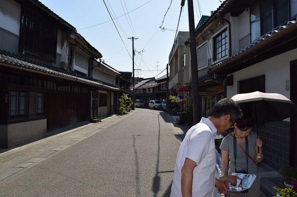 【西大寺の町並みシリーズ(その24)】五福通りを歩いていると、こちらをこよなく愛しているとお見受けした方とすれ違い立ち話を聞き情報取材(笑)