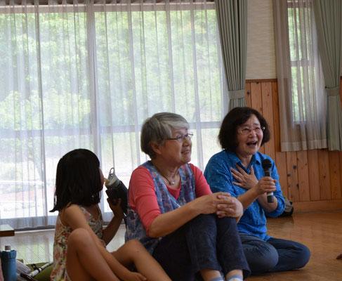 秘密の話が始まっています。洋子さんは子どもの頃のことを・・・・・・