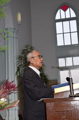 関田寛雄先生は各地の神学校で説教学や聖書解釈ゼミ、牧会学など幅広くご奉仕された先生です。