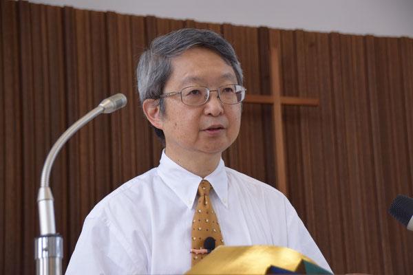 2016年7月31日(日)、古谷正仁(まさよし)先生を横浜市の蒔田(まいた)教会よりお迎えしました。日本聖書神学校の教授も務めて居られます。