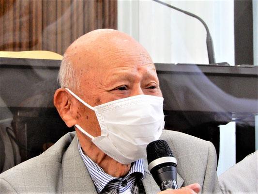 2021年9月19日(日)11月には101歳となる、脇本寿先生です。1959.8-1991.3迄旭東教会を牧会して下さいました。隠退されて30年を経て、人生の節目節目の不思議な救いを語って下さいました。