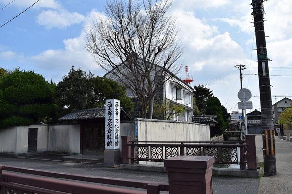 【西大寺の町並みシーズ(その3-1)】早く訪ねて見たいとおもっている「西大寺文化資料館」です。開館が《日曜日のみ、10時~16時 》と牧師泣かせ。西大寺観音院の門前町として、また、吉井川を往来する高瀬舟の港町として古くから商業の町として栄えてきた西大寺の文化、歴史を紹介してくださっています。