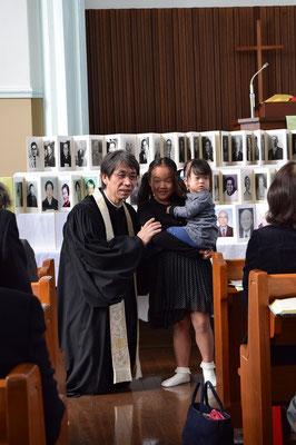 2015年11月 聖徒の日・召天者記念礼拝日 広島からやって来た姉妹