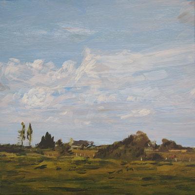 Claude Francheteau - peinture - 20x20cm- 2017