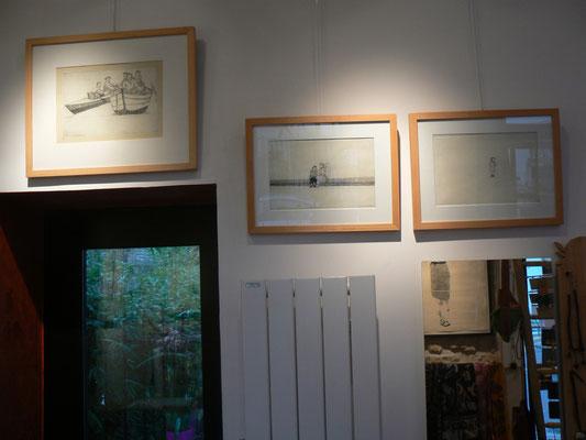 "Christine Gendre-Bergère - gravures - "" filiation """