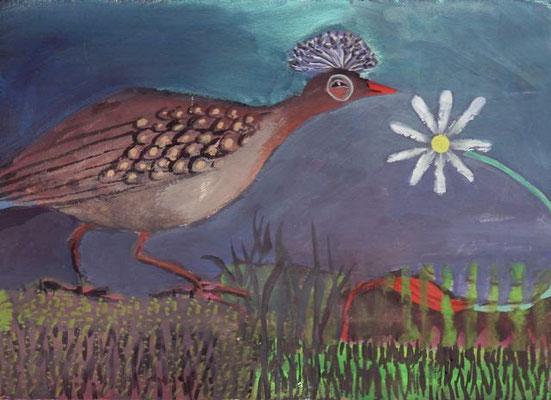 Agnes Robin - peinture - 13x18cm